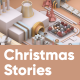 Christmas Factory Stories - VideoHive Item for Sale