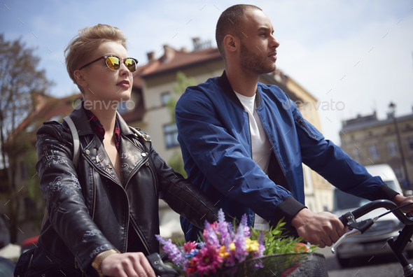 Doing things together is much better - Stock Photo - Images