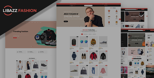 Libazz - The Fashionable eCommerce Store