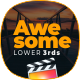 Awesome Lower Thirds for FCPX - VideoHive Item for Sale