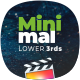 FCPX Minimal Lower Thirds Pack - VideoHive Item for Sale