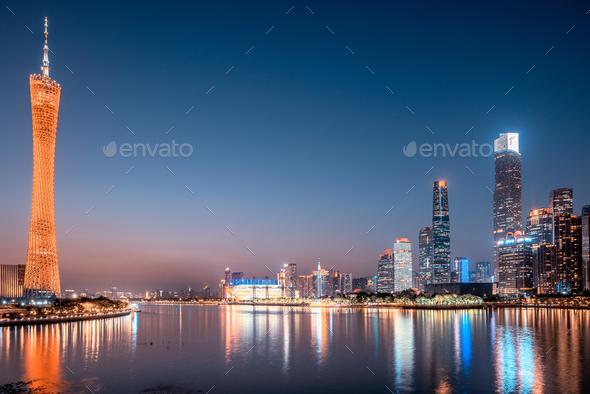guangzhou city - Stock Photo - Images
