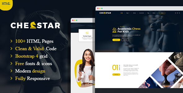 Chesstar - Chess Club and Personal Trainer HTML Template