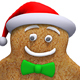 Christmas Gingerbread Man Hip-Hop Dance (2-Pack) - VideoHive Item for Sale