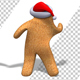 Christmas Gingerbread Man Disco Dance (2-Pack) - VideoHive Item for Sale