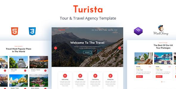Turista - Tour & Travel Agency Template by themesvila