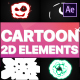2D Cartoon Elements | After Effects - VideoHive Item for Sale