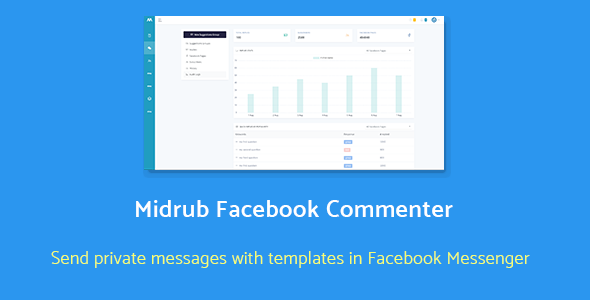 Share codecanyon Midrub Facebook Commenter - automatically moderates and sends private messages with templates