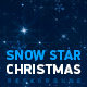 Snow Star Christmas Background - VideoHive Item for Sale