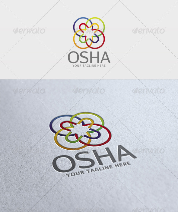 Osha Logo - Vector Abstract