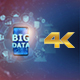 Big Data on Mobile Phone - Left Side (4K) - VideoHive Item for Sale