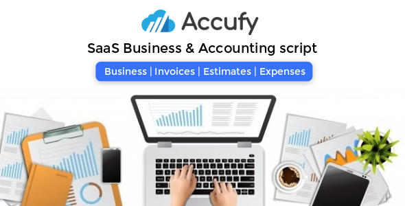 Share codecanyon Accufy - SaaS Business & Accounting Script