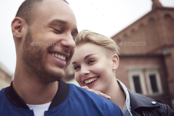 Can not get enough of him - Stock Photo - Images