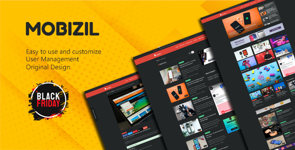 Share codecanyon mobizil – script News and Business mobile System with Website