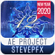 New Year Snowflake Countdown 2020 - VideoHive Item for Sale