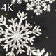 Snowflakes Silver Glitter 2 - VideoHive Item for Sale