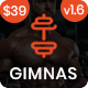 Gimnas - Gym Fitness WordPress Theme