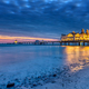 Dawn at the beautiful sea pier of Sellin - PhotoDune Item for Sale