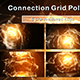 Connection Grid Polygons Golden - VideoHive Item for Sale