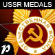USSR WWII Medals - GraphicRiver Item for Sale