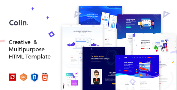 Colin - Creative Multipurpose HTML Template by template_path