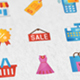 Shopping and Commerce Modern Flat Animated Icons - VideoHive Item for Sale