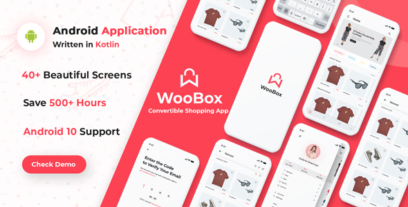 Share codecanyon WooBox - Native Android App for WooCommerce