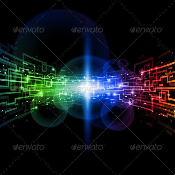Internet concept - Communications Technology