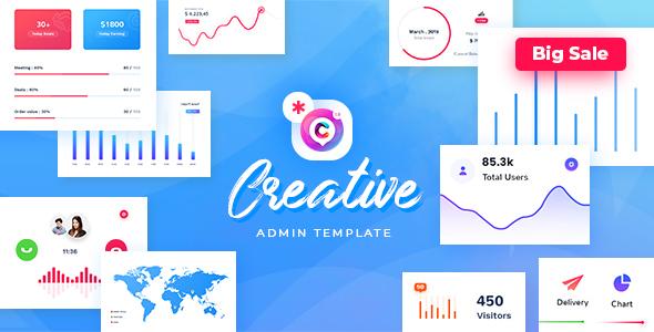 Creative - Responsive Admin Dashboard Template