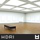 High Resolution Loft Gallery HDRi Map 001
