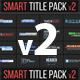Smart Title Pack v2 - VideoHive Item for Sale