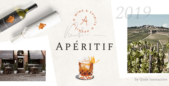 Download themeforest Aperitif - Wine Shop and Liquor Store v1.0.1 nulled