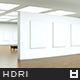 High Resolution Loft Gallery HDRi Map 003