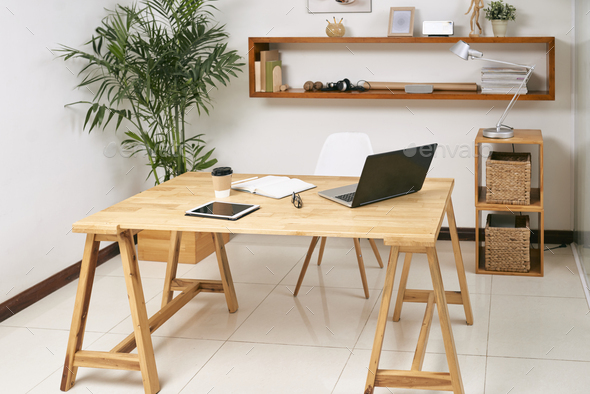 Business room with modern interior - Stock Photo - Images