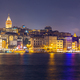 Istanbul cityscape at night - PhotoDune Item for Sale