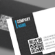 Elegant QR Business Card - GraphicRiver Item for Sale