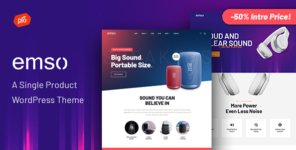 Download Emso - A Single Product Theme v1.0 nulled