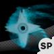 Smoky Flying Shuriken - VideoHive Item for Sale