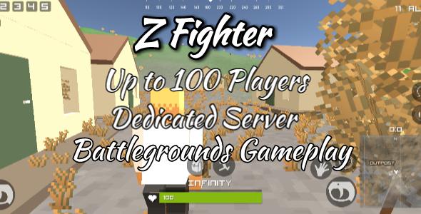 Pubg CLone Unity / Z Fighter