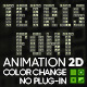 Tetris Font - VideoHive Item for Sale