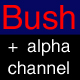 Bushes(alpha chennels)pack