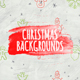 Christmas Backgrounds - Hand Drawn Icons - VideoHive Item for Sale