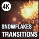 Christmas Snowflakes Transitions vol.2 - VideoHive Item for Sale