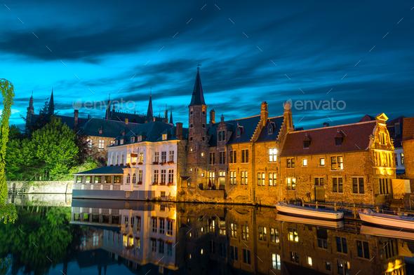 Belgium, Brugge, West Flanders, Europe - Stock Photo - Images