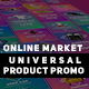 Online Market Universal Product Promo - VideoHive Item for Sale
