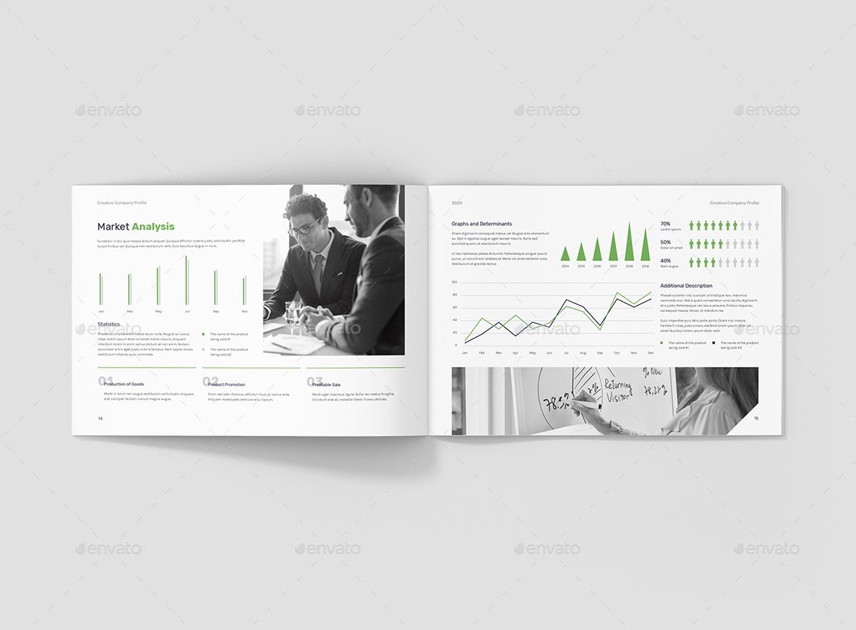 Creative Multipurpose Company Profile Landscape By Artbart Graphicriver