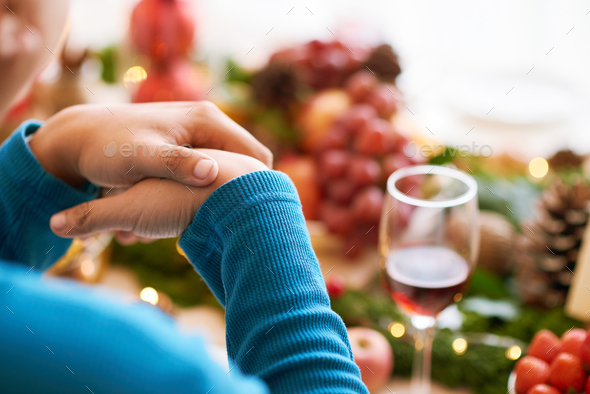 Ready for CHristmas dinner - Stock Photo - Images