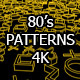 80's Patterns Video Pack - VideoHive Item for Sale