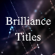 Brilliance Titles   Awards Titles - VideoHive Item for Sale