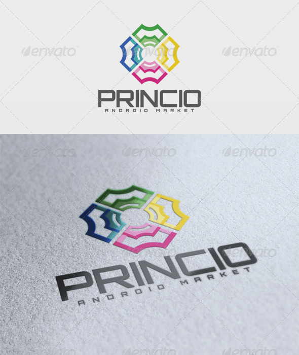 Princio Logo - Abstract Logo Templates